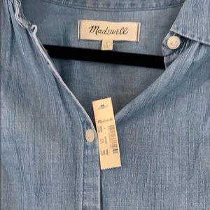 Madewell Tops - Madewell NWT button down denim shirt